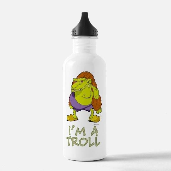 I'm a Troll Water Bottle