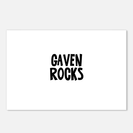 Gaven Rocks Postcards (Package of 8)