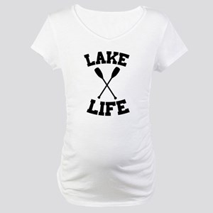 Lake life Maternity T-Shirt