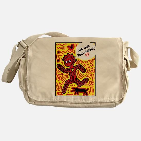 We love Keith Haring Messenger Bag