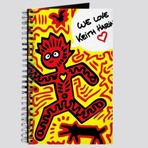 We love Keith Haring Journal