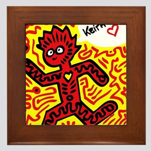 We love Keith Haring Framed Tile