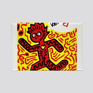 We love Keith Haring Magnets