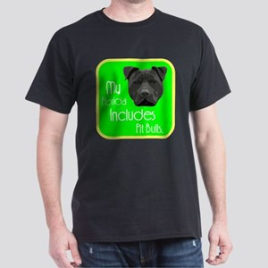 My Florida Includes Pit Bulls Dark T-Shirt
