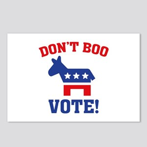 Don't Boo Vote! Postcards (Package of 8)