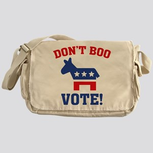 Don't Boo Vote! Messenger Bag