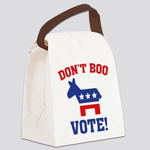 Don't Boo Vote! Canvas Lunch Bag