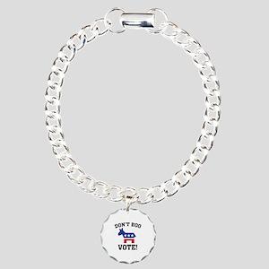 Don't Boo Vote! Charm Bracelet, One Charm