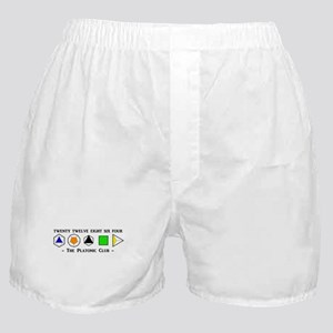 The Platonic Club Boxer Shorts
