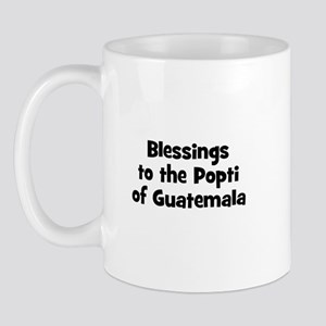 Blessings to the Popti of Gua Mug