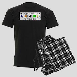 The Platonic Club Men's Dark Pajamas