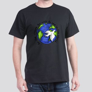 World Peace Gandhi - Funky Stroke T-Shirt
