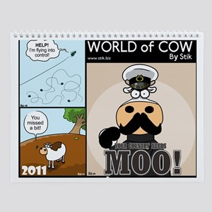 World of Cow 2011 Calendar by StiK