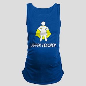Super Teacher Maternity Tank Top