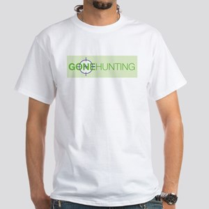Gone Hunting White T-Shirt