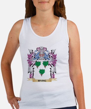Irving Coat of Arms (Family Crest) Tank Top