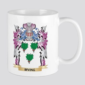 Irving Coat of Arms (Family Crest) Mugs