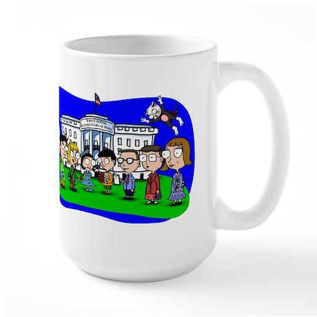 Lil Bill & Hill and Friends Large Mug