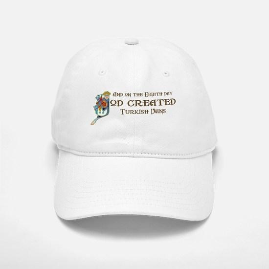 God Created Vans Baseball Baseball Cap