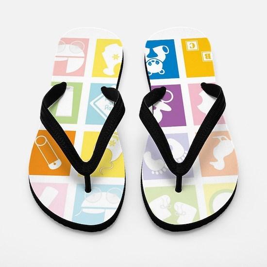 baby wishes Flip Flops