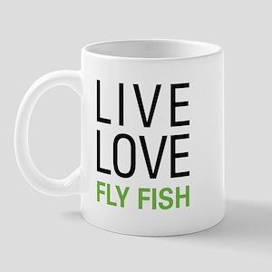 Live Love Fly Fish Mug