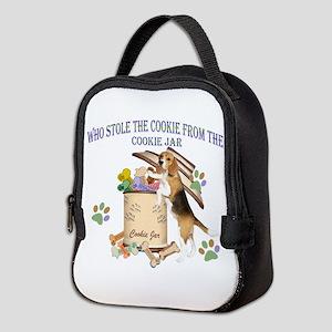 Beagle Stole Cookies Neoprene Lunch Bag