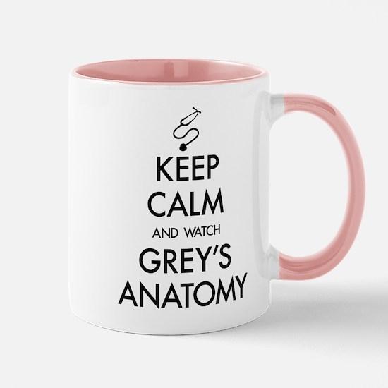 Keep Calm And Watch Grey's Anato Mug