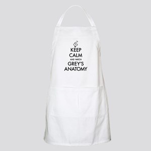 Keep Calm And Watch Grey's Anatomy Light Apron