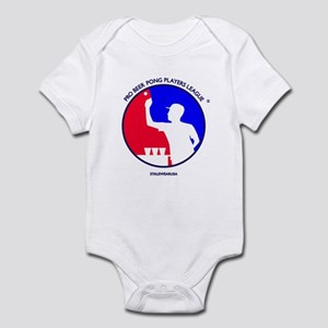 Pro Beer Pong Players Logo Infant Bodysuit