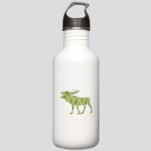 Green Moose Stainless Water Bottle 1.0L