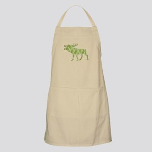 Green Moose Apron