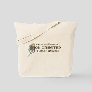 God Created Angoras Tote Bag