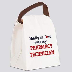 Madly in love with my Pharmacy Te Canvas Lunch Bag