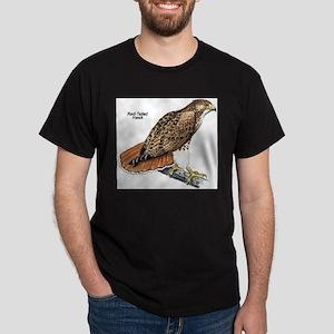 Red-Tailed Hawk Bird Ash Grey T-Shirt