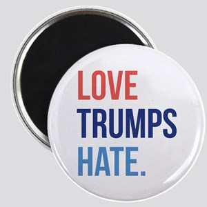 Love Trumps Hate Magnet