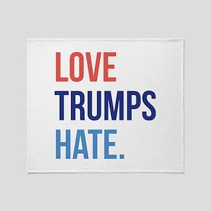 Love Trumps Hate Stadium Blanket