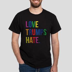 Love Trumps Hate Dark T-Shirt