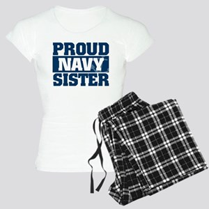 Proud Navy Sister Women's Light Pajamas