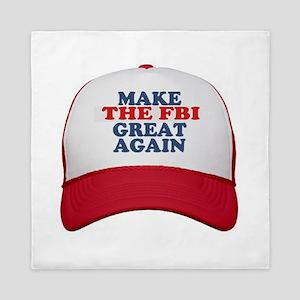 FBI HAT Queen Duvet