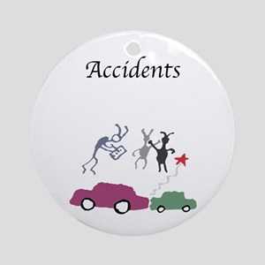 Accidents Cave Critter Keepsake (Round)