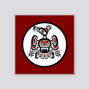 Northwest Pacific coast Kaigani Thunderbird Sticke