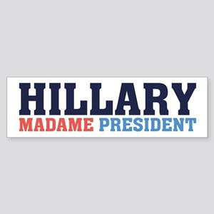 Hillary 2016 Bumper Sticker