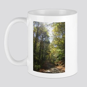 Sun and Trees The Berkshires Mug
