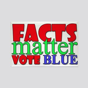 Facts Matter Vote Blue Magnets