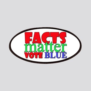 Facts Matter Vote Blue Patch