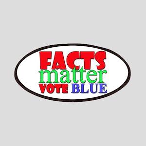 Facts Matter Vote Blue Patch