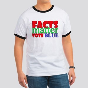 Facts Matter Vote Blue T-Shirt