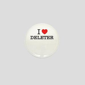 I Love DELETER Mini Button