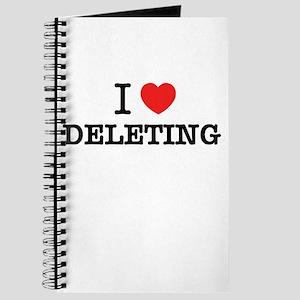 I Love DELETING Journal