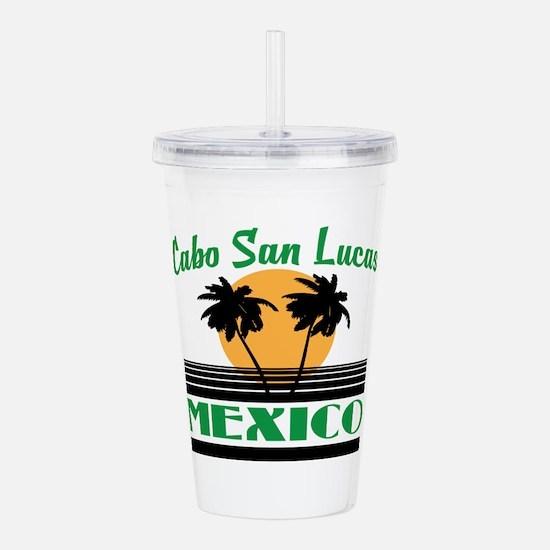 Cabo San Lucas Mexico Acrylic Double-wall Tumbler